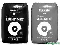 BioBizz - All-Mix, Light-Mix & Worm-Humus Organic Potting Soils