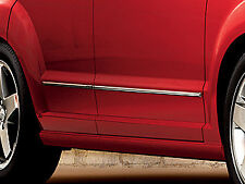 07-09 Dodge Caliber New Chrome Door Moldings Trim Mopar Factory Oem