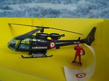 Solido (France)   HELICOPTER Gendarmerie with figure #381 A