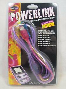 Nyko Powerlink Universal Link Cable for Nintendo Game Boy Color / Pocket/ OG New