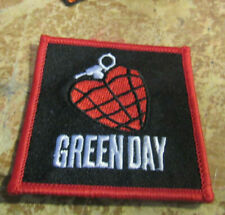 GREEN DAY PATCH COLLECTABLE RARE VINTAGE EMBROIDED 2010 METAL LIVE