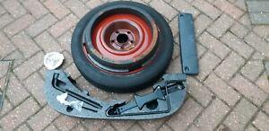 Saab 9-3 Convertible Hatch 98-03 Spare Wheel Jack Wheel Changing Tools Kit