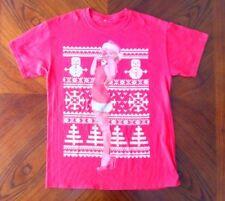 marilyn monroe christmas t shirt red adult medium