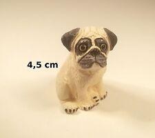 chien miniature en céramique ,collection, vitrine, hondje, dog   G-chiens-W16