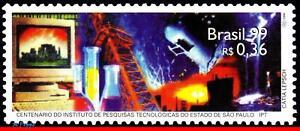 2715 BRAZIL 1999 IPT, CHEMISTRY, TECHNOLOGICAL RESEARCH, SCIENCE, MI# 2944, MNH