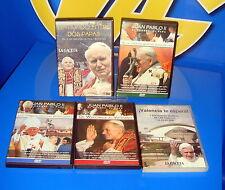 5 dvds documentales Religiosos buen estado