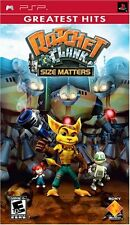 Ratchet & Clank: Size Matters [Sony PlayStation Portable PSP, GH, Adventure] NEW