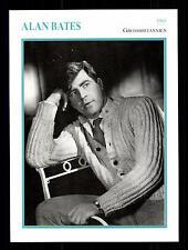 Alan Bates Star Portrait carta - 80er anni Top + G 16916