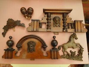 Antique Vienna Clock Finials