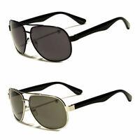 80s Mens Retro Vintage Classic Fashion Designer Aviator Sunglasses Black Gold