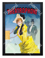 Historic Theatrophone 1890 Advertising Postcard