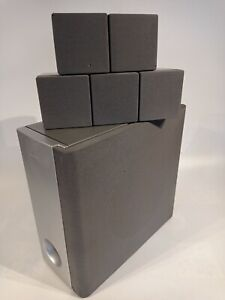 Sony 5.1 Surround Sound Speaker System Subwoofer SS-WS9 & SS-TS9 Untested