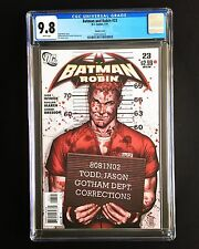 BATMAN & ROBIN #23 CGC 9.8 MT/NM WP 1:10 JASON TODD VARIANT J.G. JONES RED HOOD
