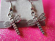 Dragon Fly Dangle Earrings