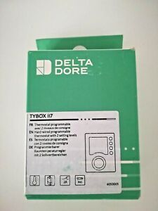 Delta Dore Tybox 117 Thermostat d'ambiance programmable