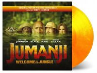 JUMANJI WELCOME TO THE JUNGLE / OST / 2LP / FLAMING VINYL / MOV / NEW