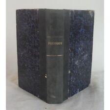 PHYSIQUE par J. LANGLEBERT Cours d'Études Scientifiques avec 340 Gravures 1892