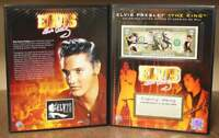 ELVIS PRESLEY * The King / Jailhouse Rock * U.S. $2 Bill with COLLECTIBLE FOLIO