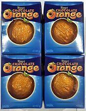 TERRY'S CHOCOLATE ORANGE x4 - MILK CHOCOLATE - BRITISH CHOCOLATE