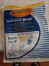 EnviroCare Technologies Vacuum Bags - Bosch Type P