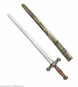Antikes Ritterschwert Mit Scheide 75 Cm