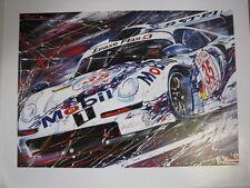 Mobil 1 Porsche GT1 1996 #35 Stuck (GER) / Boutsen (BEL)  by Eric-Jan Kremer