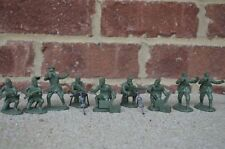 WWII German Infantry Machine Gun Section Russians Partisan Soldiers 1/32 54MM