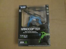 XIB RC NANOCOPTER 2CH I/R Mini Infrared Remote Control Helicopter NIB NEW
