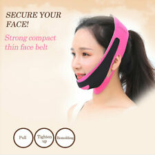 V-Line Face Slim Lift Up Chin Facial Band Slimming Strap Belt Anti-Aging Mask p