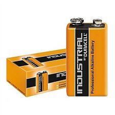 20 X Duracell industrial Batería Mn1604-6lr61-9v-e-block 580mah