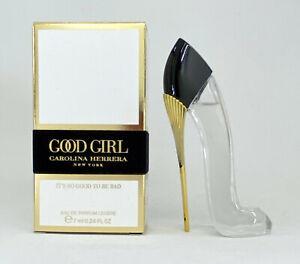 GOOD GIRL CAROLINA HERRERA EAU DE PARFUM LEGER 7 ML 0.24 FL.OZ. MINI PERFUME NEW