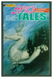Spicy Tales #14 F/VF 1989 Eternity Comics - GGA Drowning Cover