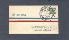 #C4 1926 SESQUICENTENNIAL RTE FIRST FLIGHT-NY TO PHILADELPHIA SEP 4-1926