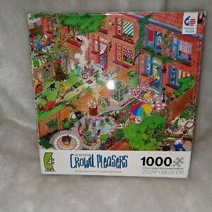 Ceaco Crowd Pleasers The Neighbors Jan Van Haasteren 1000 Piece Jigsaw Puzzle
