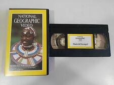 DIARIO DEL SERENGETI - VHS TAPE CINTA NATIONAL GEOGRAPHIC VIDEO