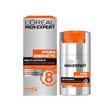 L'Oreal Men Expert HYDRA ENERGETIC Multi Action 8 anti FATIGUE Moisturiser 50ml