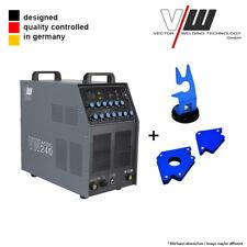 SET6: VECTOR Schweißgerät AC/DC WIG VW240 Puls Inverter + Magnete