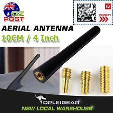 10cm 4 Inch Booster Mast Stubby Car AM FM Radio Signal Antenna Roof Black Aerial