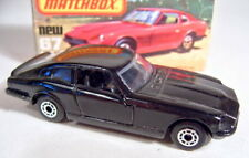 Matchbox SF Nr. 67C Datsun 260Z rare Farbe komplett in schwarz top in Box