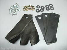 """Quality replacement blades & bolts for 21"""" HONDA mowers Lawnmower blades HRU216"""