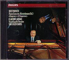 Claudio ARRAU: BEETHOVEN Piano Concerto No.5 Colin DAVIS CD 1986 Klavierkonzert