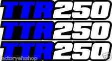 TTR250 Swingarm Airbox Decals Sticker TTR 250 Dirtbike Racing MX graphics atv