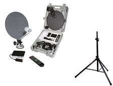 Caravan Satellite System, HD Camping Satellite Kit,  HD Portable Satellite kit