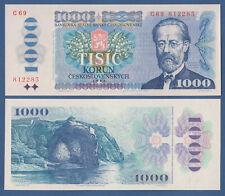 TSCHECHOSLOWAKEI / CZECHOSLOVAKIA 1000 Korun 1985 UNC P.98