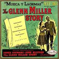 THE GLENN MILLER STORY Soundtrack CD #46/100  O.S.T Film 1954 Música Y Lágrimas