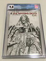 Walking Dead #127 Diamond Retailer Summit Sketch Variant CGC 9.8 NM/MT Image
