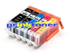 5 Pack PGI-550 CLI-551 XL Ink Cartridge Compatible for Canon