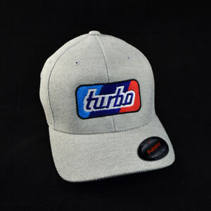 Turbo Hat - Inspired by BMW 2002 Turbo - Flexfit Adult Poly Mélange Heather