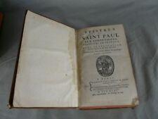 La Bible: Epistres (épîtres) de Saint Paul aux Corinthiens 1745
