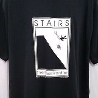Wheelchair Access T Shirt Vintage 90s Stairs The Final Frontier Made In USA 2XL